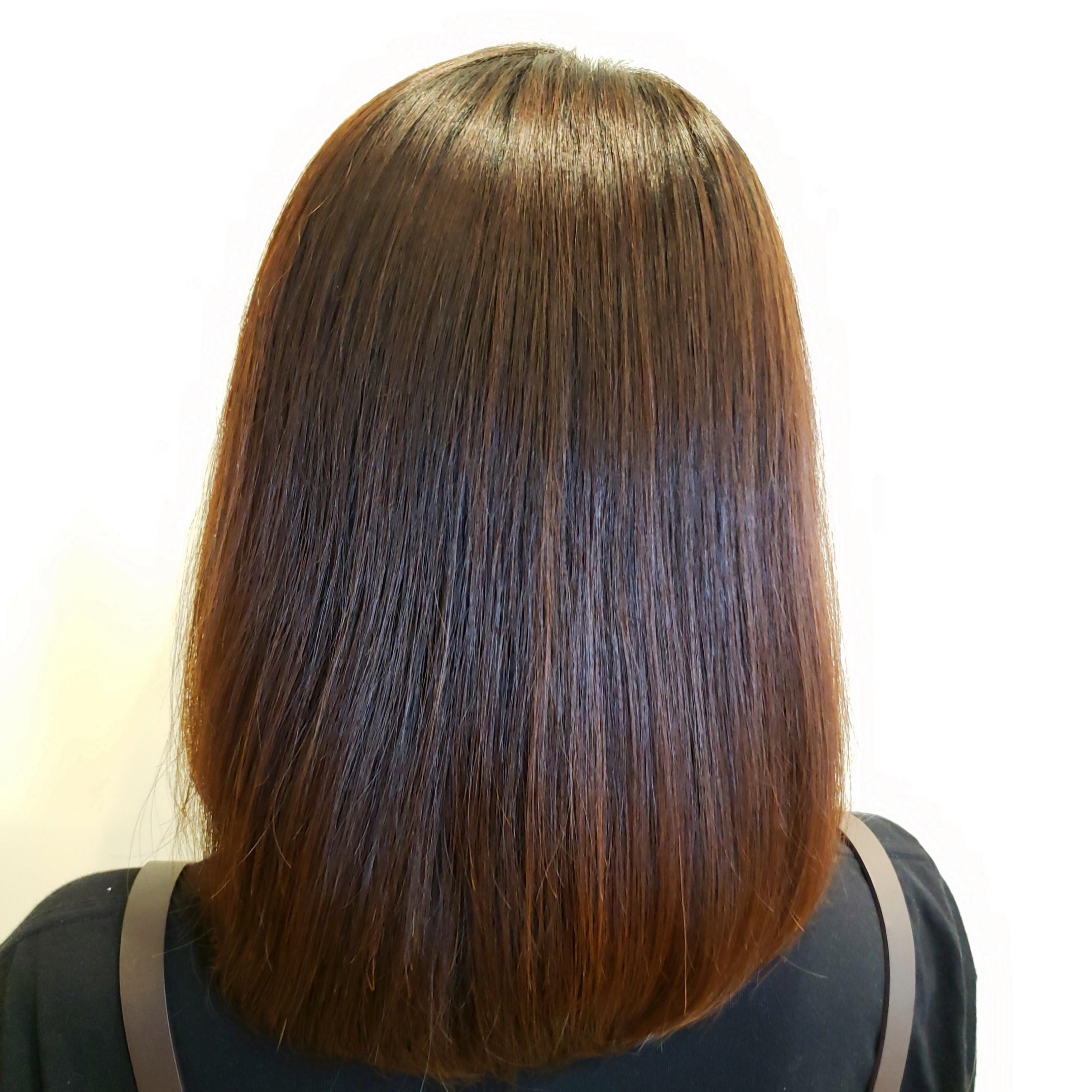 朝、寝癖を直す時間を10分短縮する髪質改善縮毛矯正とは?