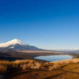 鉄砲木ノ頭 富士山 山中湖