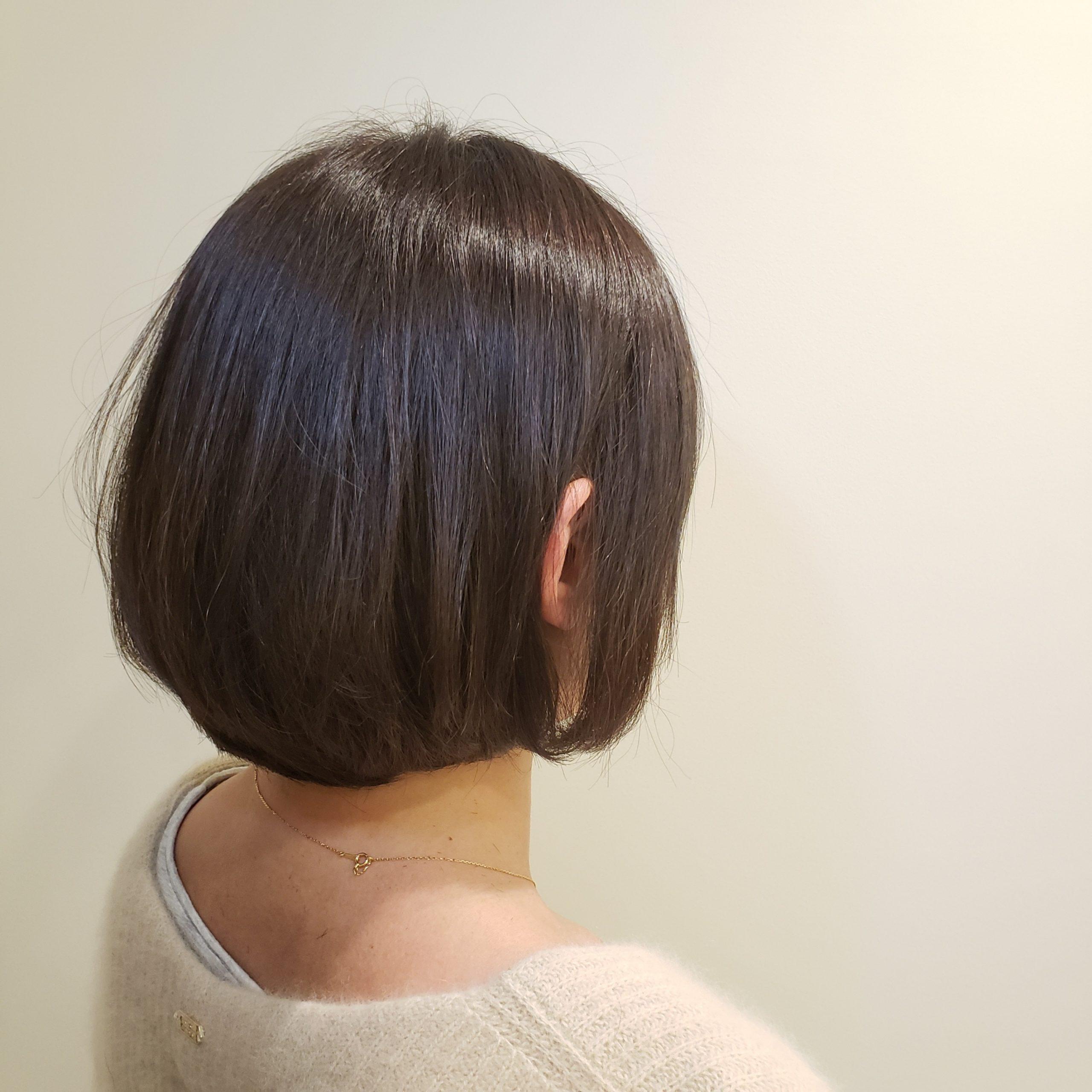 髪質改善カラー(リノヴィール)はくせ毛を扱いやすくする?特徴と効果は?