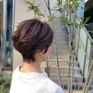 ハンサムショート 大人女性のショートヘア